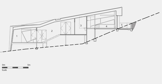 Klein-Bottle-House-long-stair-section