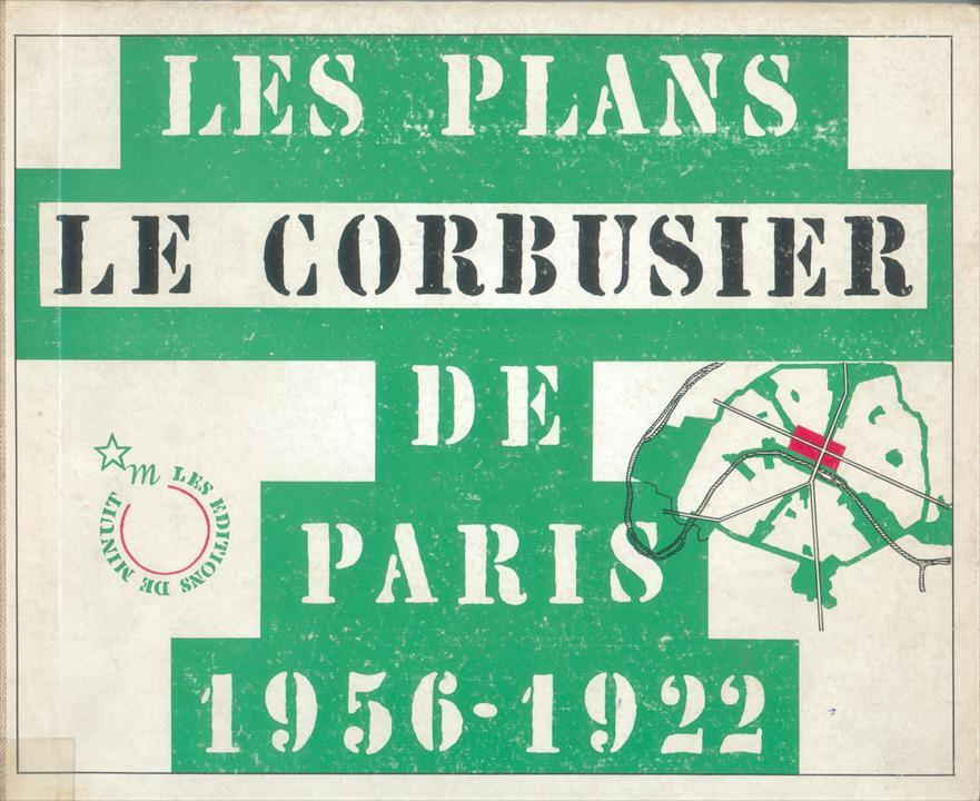Stencil Faces in Le Corbusier Books