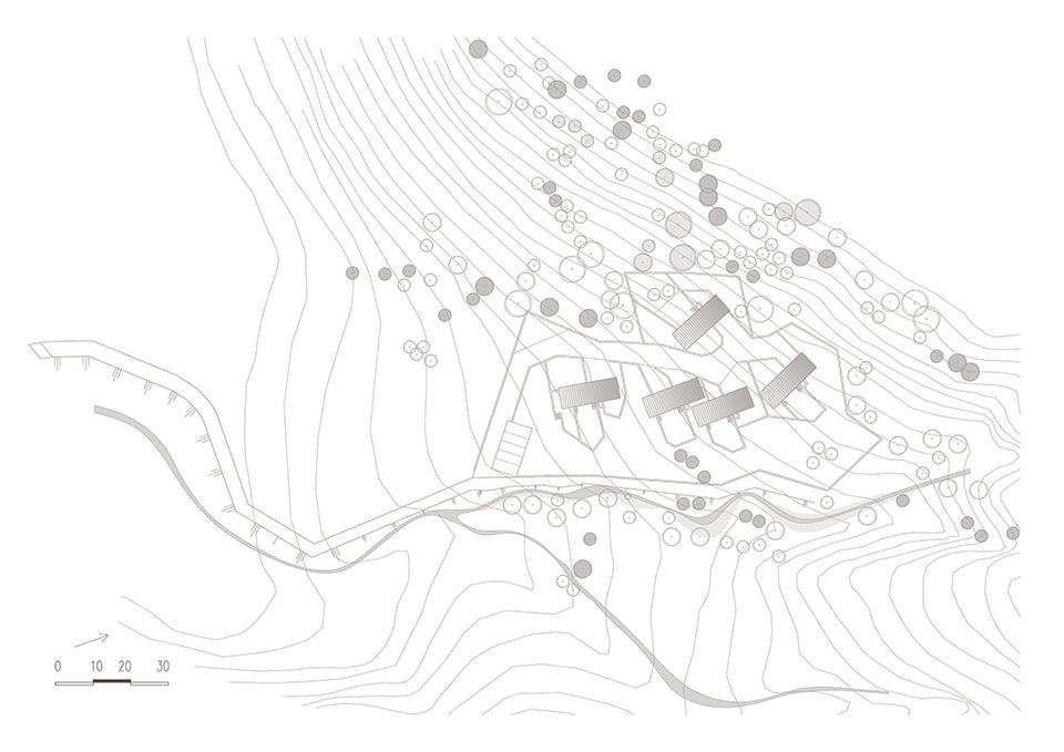 Five-houses-at-Parnassus-Mountain-Roula-Kotsilati-TOPOGRAFIKO