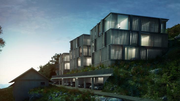 buerger katsota architects - annenheim kuben - view 01
