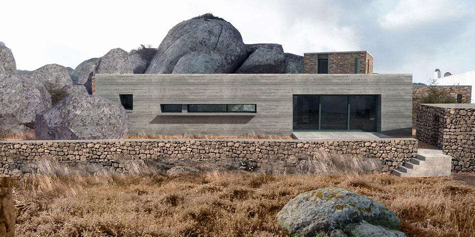 06-House-in-the-Rocks-Facade