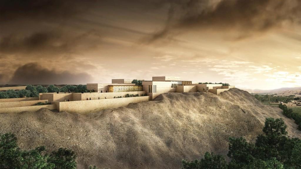 Caravan-Bamiyan-Cultural-Centre-Atelier-3AM-Main-View