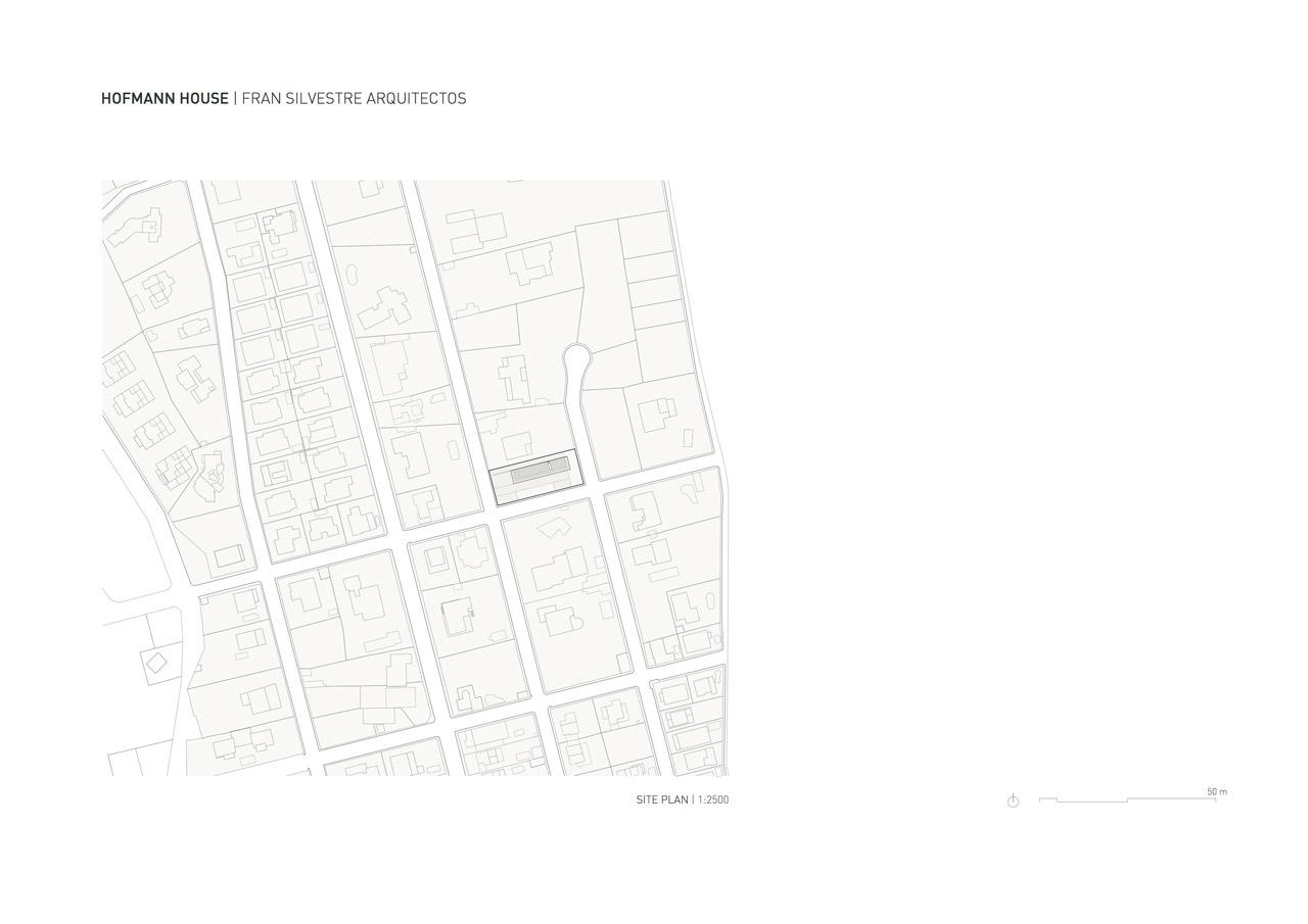 FRAN-SILVESTRE-ARQUITECTOS-VALENCIA---HOFMANN-HOUSE---SITEPLAN