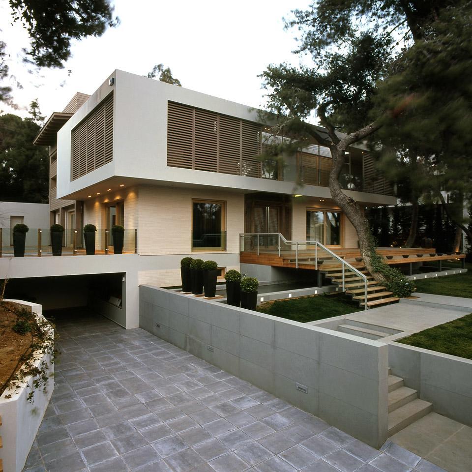 Greek Modernist Residence Refurbishment in Psihiko by Fotini Margariti 09