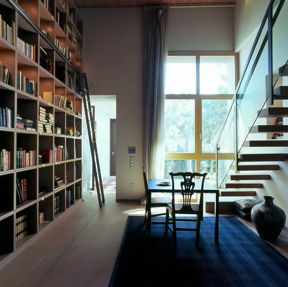 Greek Modernist Residence Refurbishment in Psihiko by Fotini Margariti 04