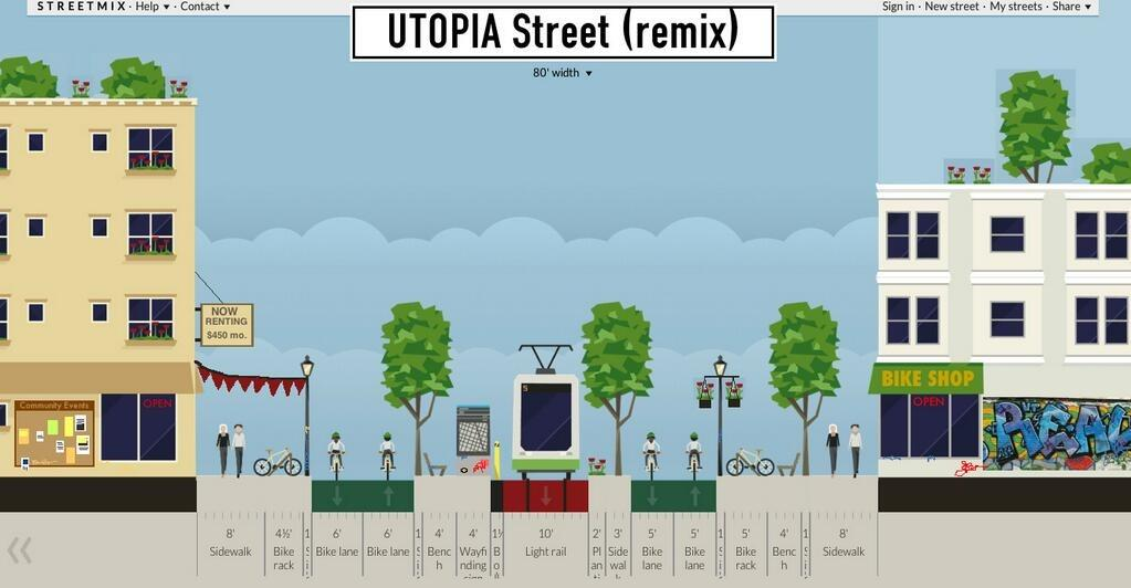 Streetmix civic app helps you design your own street 03