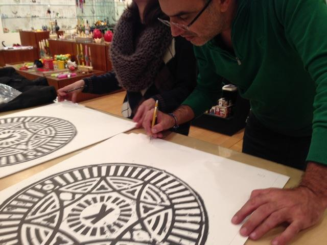 City Prints-Signing
